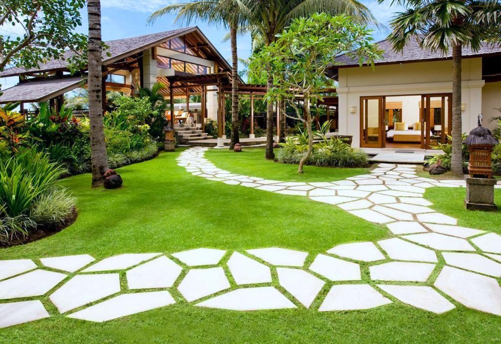 Садовые дорожки своими руками с малыми затратами