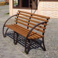 Садовые скамейки из профильной трубы своими руками: чертежи и фото