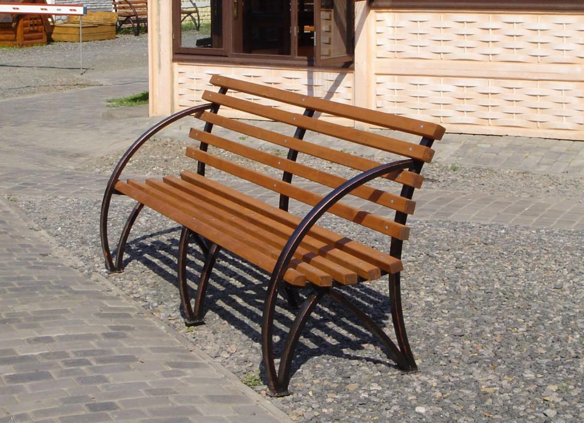 Садовые скамейки из профильной трубы своими руками чертежи и фото