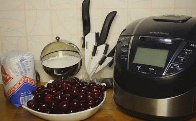 Варенье из вишни с косточкой на зиму простой рецепт