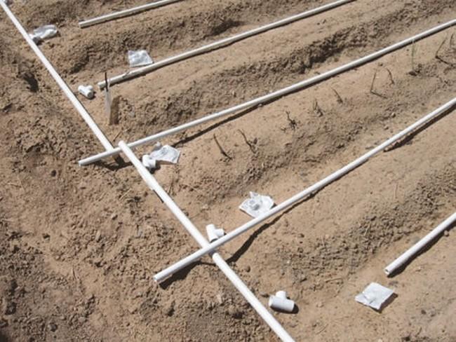 Капельный полив из полипропиленовых труб своими руками