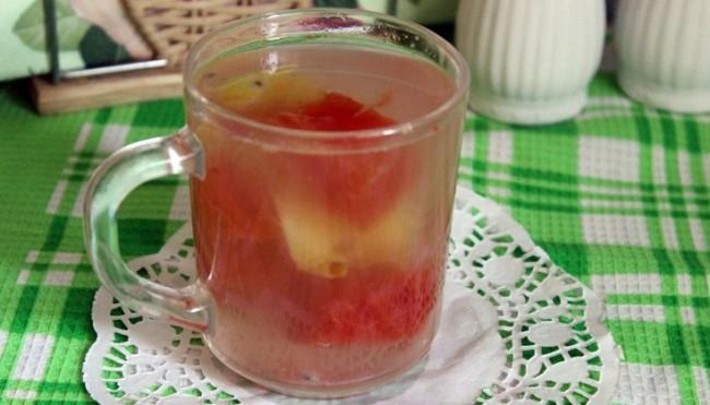 Компот из арбуза на зиму рецепты на 3 литровую банку