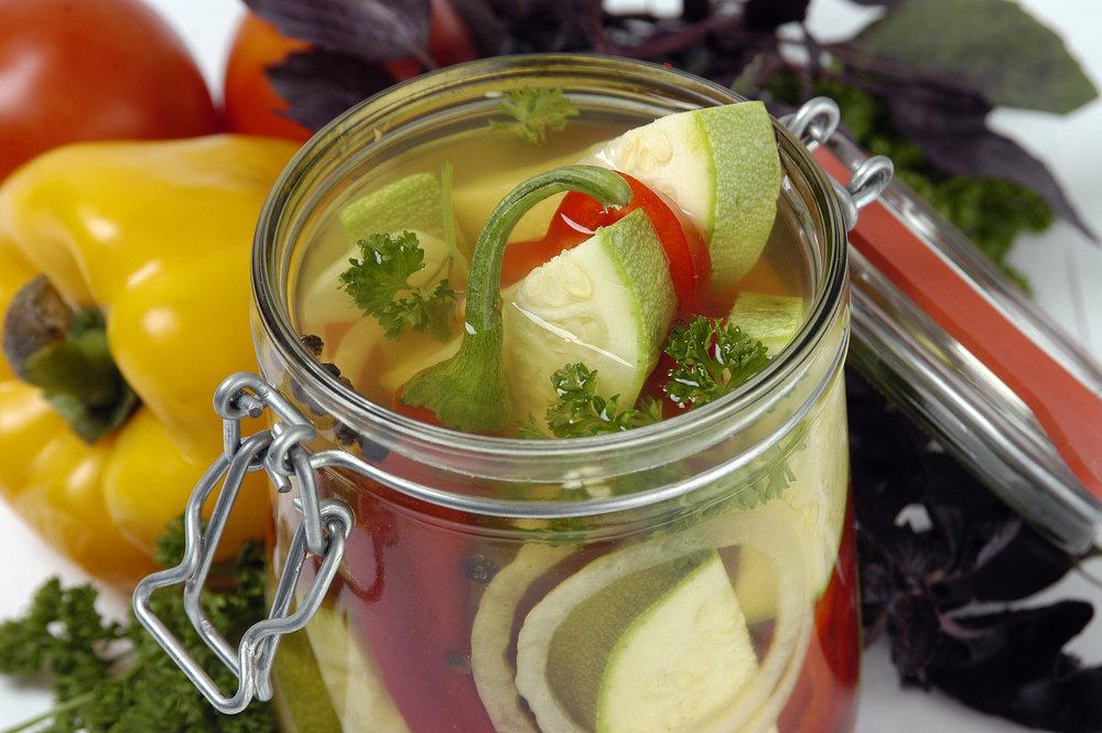 Салаты из кабачков на зиму самые вкусные рецепты с фото