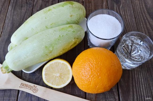 Варенье из кабачков с апельсином на зиму